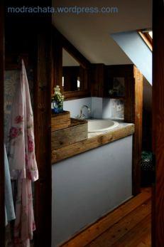 Pokoje łazienkowe I Przedpokój Poddasza Modra Chata